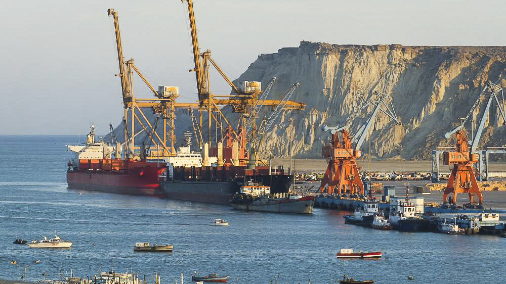 gawadar port China's operational control of gwadar, the deep-sea port on pakistan's south- west coast, sets up a struggle for maritime control in the indian.